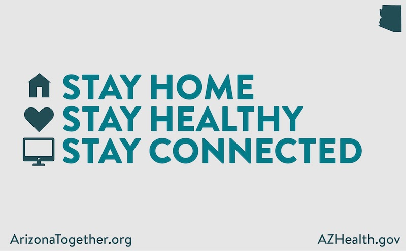 """Stay Home, Stay Healthy, Stay Connected"""