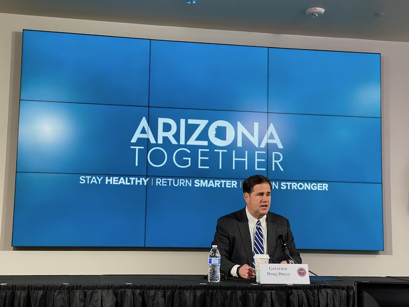 Governor Ducey Shares COVID-19 Health And Safety Updates
