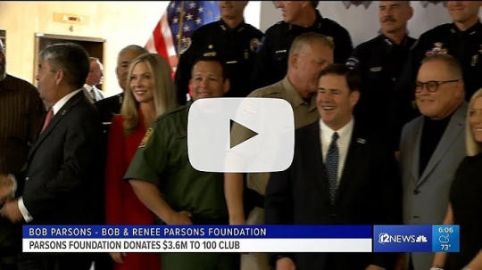 Governor Ducey Joins Bob And Renee Parsons Foundation To