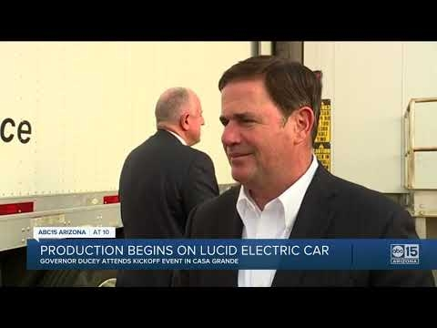 ABC 15: Production Begins On Lucid Electric Car