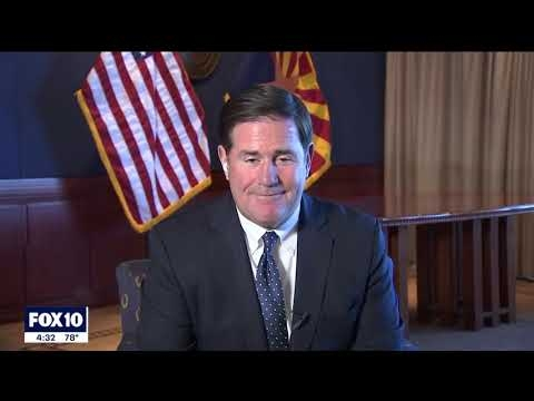 FOX 10: Gov. Ducey Gets First Dose Of COVID Vaccine