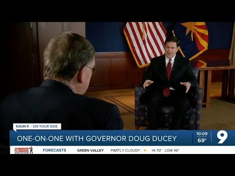 KGUN 9: Gov. Ducey Talks Vaccines, Education, Economy In One-On-One Interview