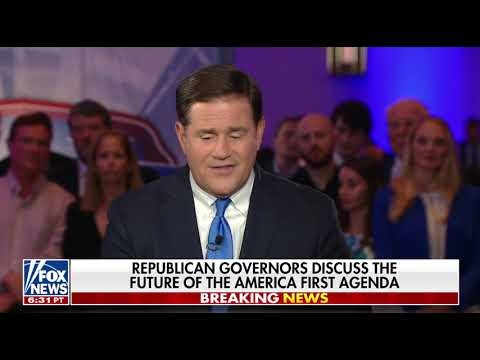 Governor Ducey Speaks To Sean Hannity