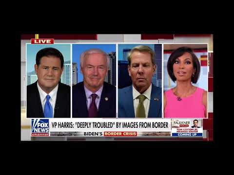 """FOX News: Governor Ducey Discusses """"Bidenville"""" Crisis At Border On Faulkner Focus"""