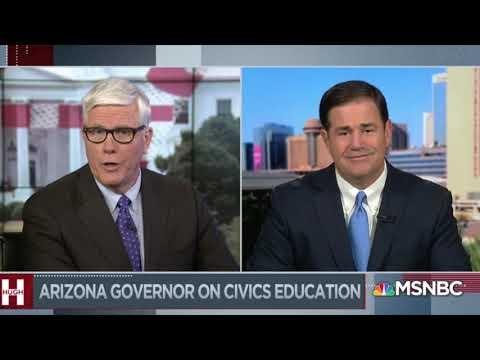 Hugh Hewitt Show: Gov. Ducey Talks RGA and Getting Arizona Back To Work 5/26/21