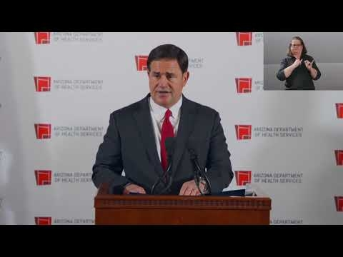 Briefing with Governor Doug Ducey, Dr. Cara Christ & Maj. Gen. Michael McGuire - November 18, 2020