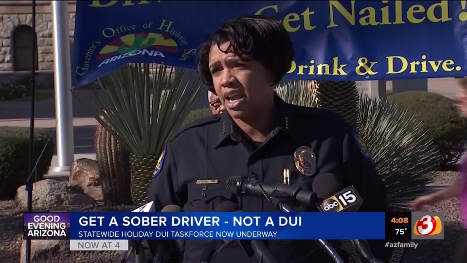 3 TV: Statewide Holiday DUI Task Force Now Underway