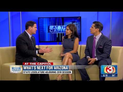 Governor Ducey On 3TV With Olivia Fierro And Javier Soto