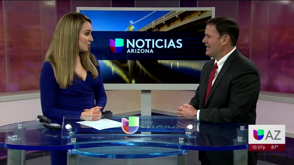 Univision Noticias Arizona: Governor Ducey Recognizes Hispanic Heritage Month