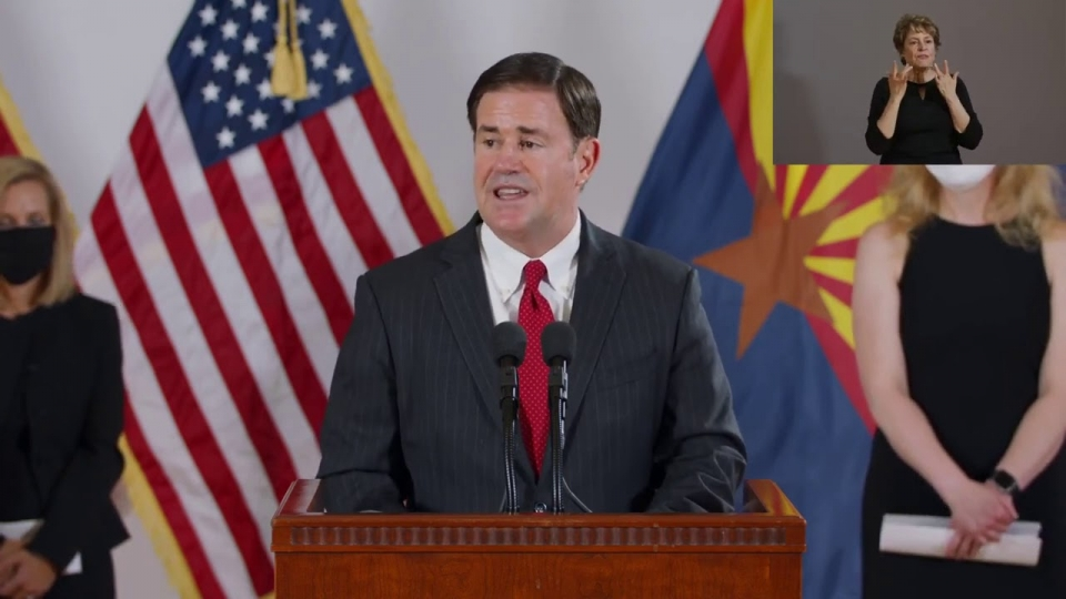 Media Briefing on Flu Plan of Action with Governor Ducey & Dr. Christ - August 31, 2020