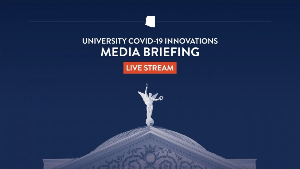 Media Briefing on University COVID-19 Innovations with Governor Ducey - September 24, 2020