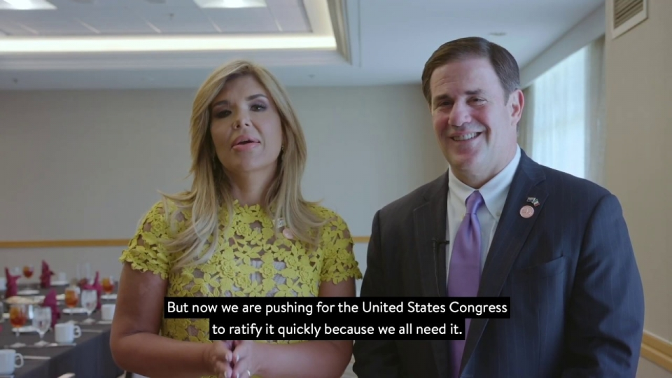 Governor Doug Ducey and Sonora Governor Claudia Pavlovich Call For Passing USMCA