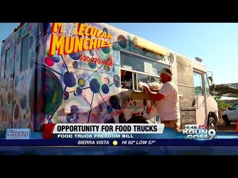 KGUN: Governor Ducey Signs Food Truck Freedom Bill
