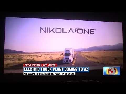 AZ Family: Electric Truck Plant Coming to AZ