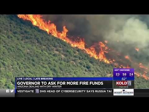 KOLD: Governor To Ask For More Fire Funds