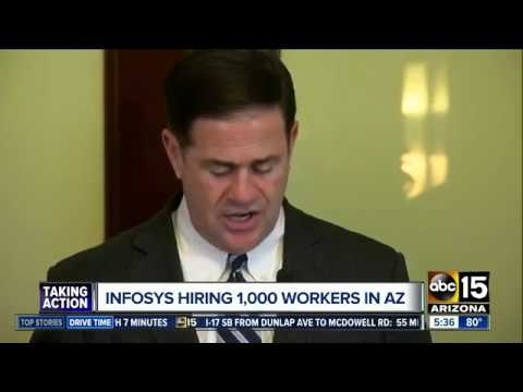 ABC15: Infosys Hiring 1000 Workers In AZ