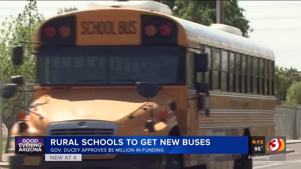 3TV: Rural Schools To Get New Buses