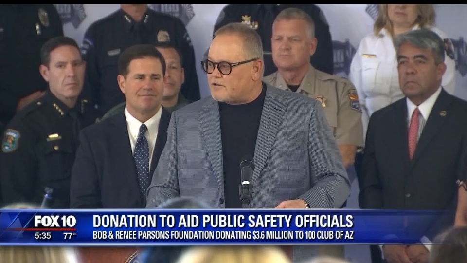 FOX 10: Donation To Aid Public Safety Officials