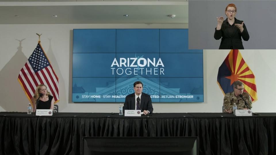 LIVE: Update On COVID-19 In Arizona