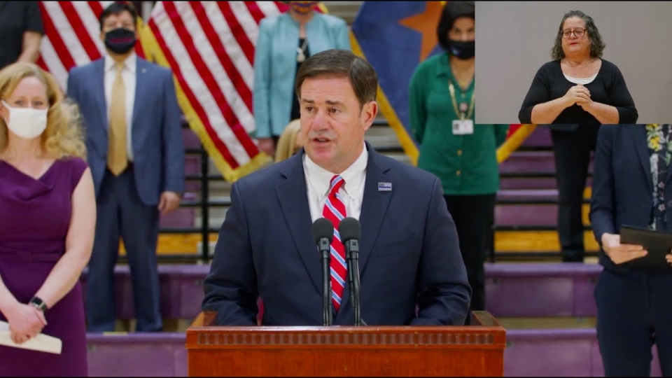 Media Briefing on Suicide Prevention with Governor Ducey - September 10, 2020