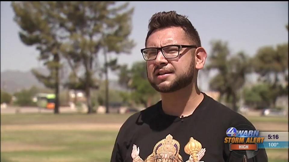 KVOA: Cosmetology Student Gives Haircuts To The Homeless