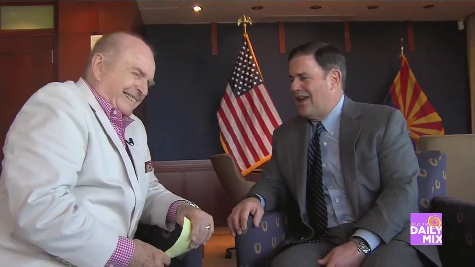 "AZTV 7: Pat McMahon's ""The Question I've Always Wanted To Ask"" With Governor Ducey"
