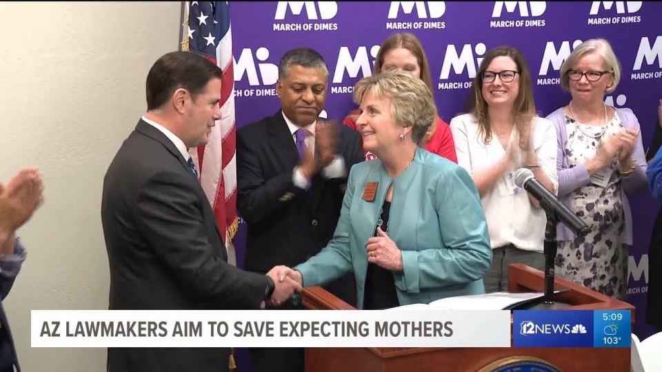 12 News: AZ Lawmakers Aim To Save Expecting Mothers