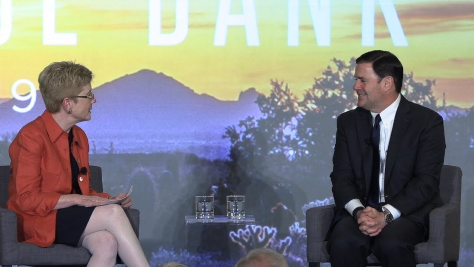 Governor Doug Ducey's Fireside Chat at Heritage Foundation Reseach Bank