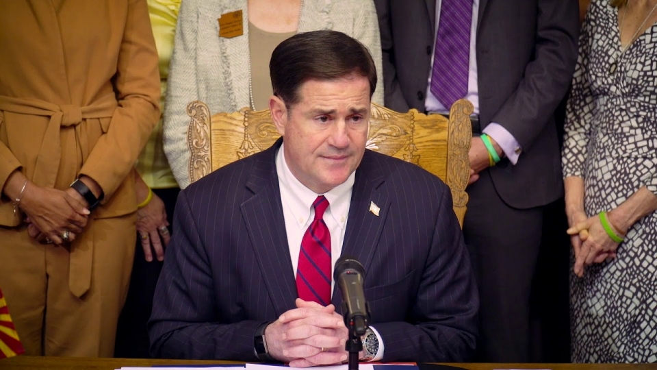 Governor Doug Ducey Signs Mitch Warnock Act For Teen Suicide Prevention