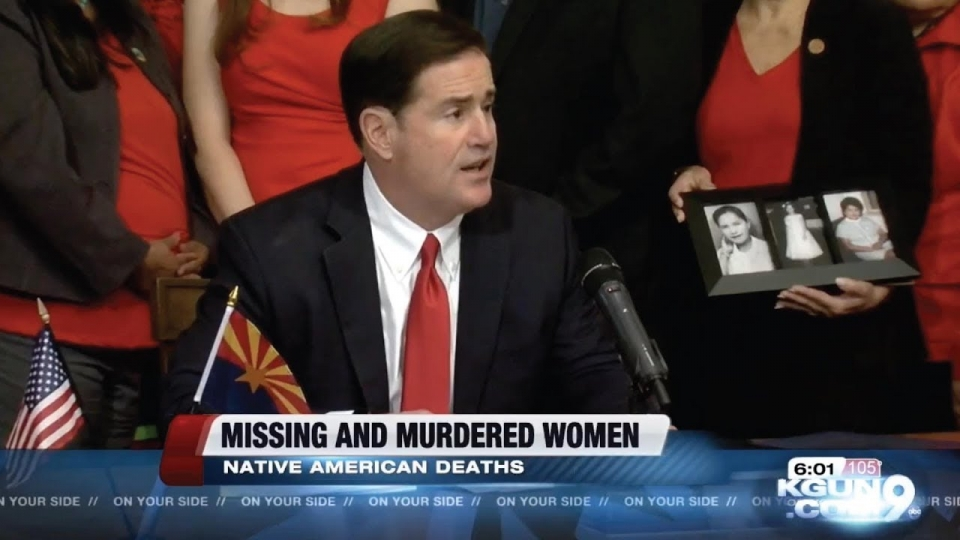 KGUN 9: Missing Or Murdered: AZ To Fight Crime Against Indigenous Women