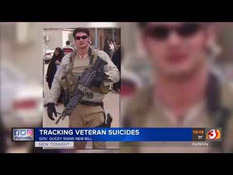 3TV: Gov. Ducey Signs New Bill Tracking Veteran Suicides