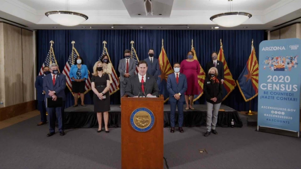 Media Briefing on Completing the 2020 Census with Governor Ducey - September 17, 2020