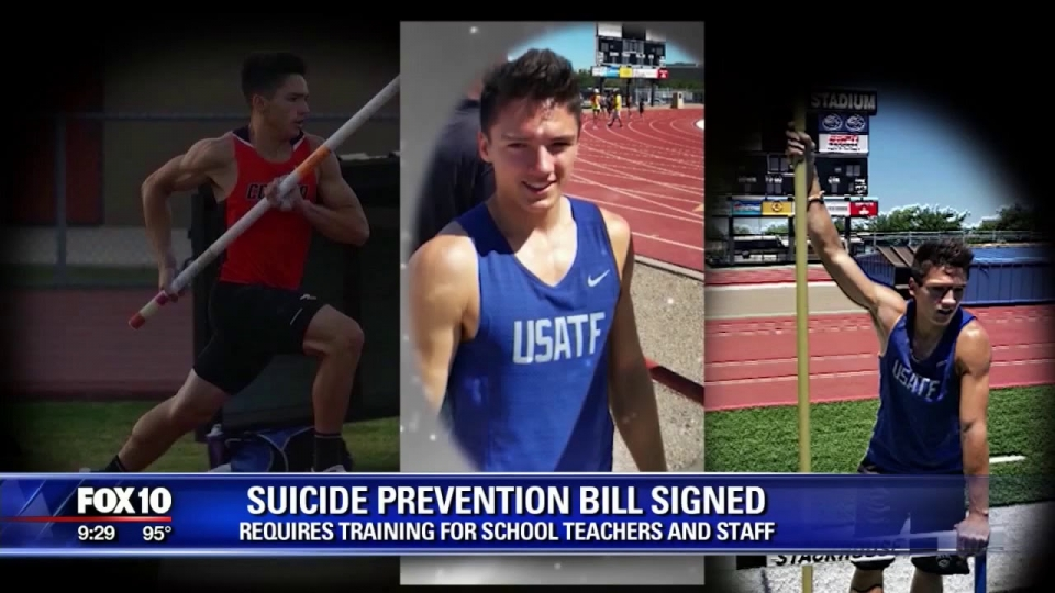 FOX 10: Suicide Prevention Bill Signed