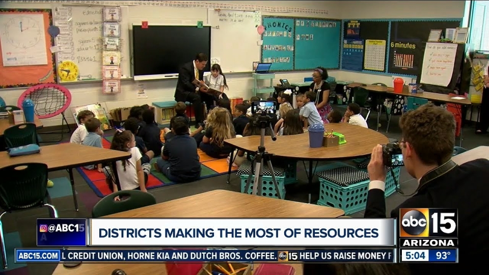 ABC 15: Governor Ducey Visits 2 Arizona Schools