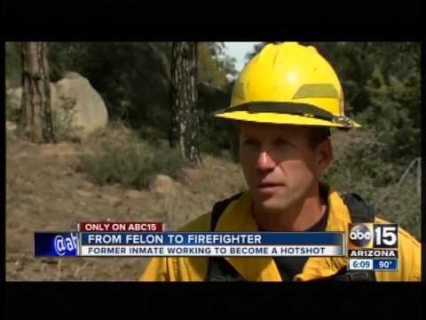 ABC 15: From felon to firefighter, T.J. O'Neill takes unlikely journey