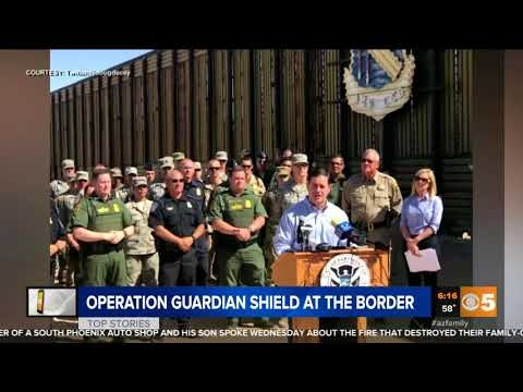 CBS 5: Operation Guardian Shield At The Border