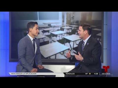 Governor Ducey On Telemundo With Octavio Pulido