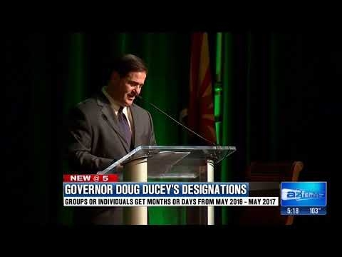 Governor Ducey Connects With AZ Communities With Proclamations