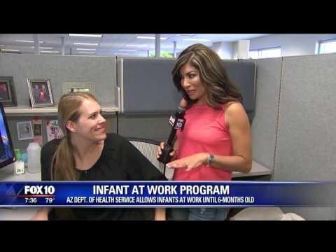 Fox 10 Phoenix takes a look at Arizona's Infant At Work program