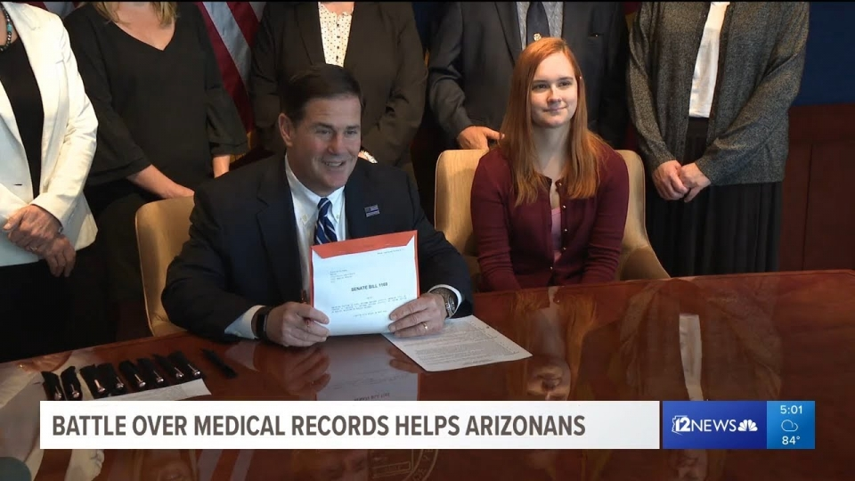 12 News: Battle Over Medical Records Helps Arizonans
