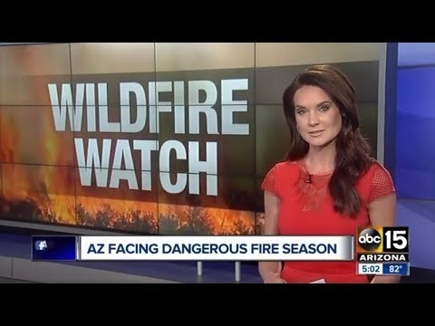 ABC 15: Arizona Facing Dangerous Wildfire Season