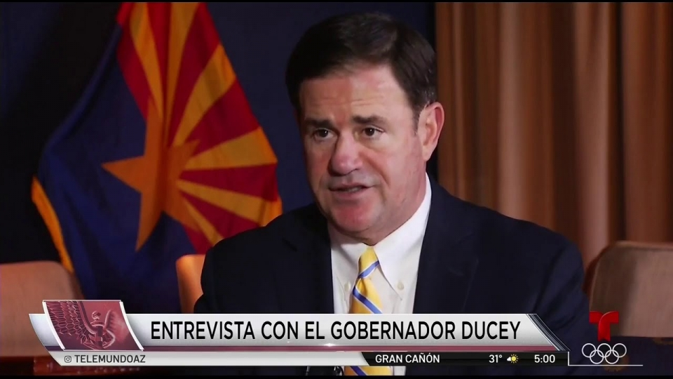 Telemundo: Gov. Doug Ducey Provides Update On COVID-19