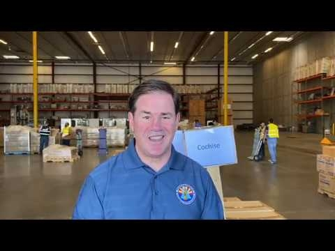 Governor Ducey Announces Medical Protective Equipment Shipment