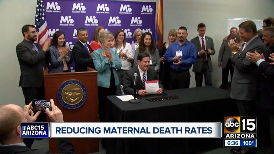 ABC 15: Reducing Maternal Death Rates