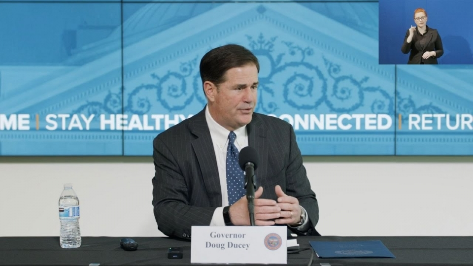 Governor Ducey Announces Updated Guidance For Arizonans, Businesses