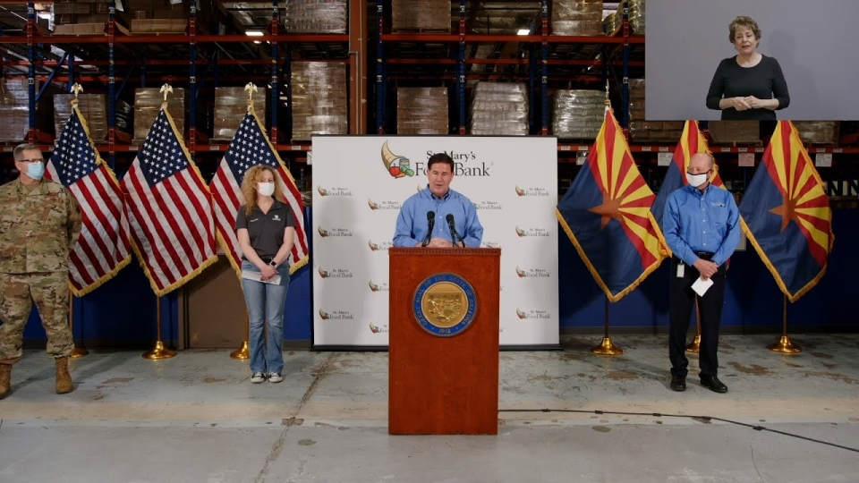 Governor Ducey Announces More Than $1.6 Million To Expand Food Bank Assistance