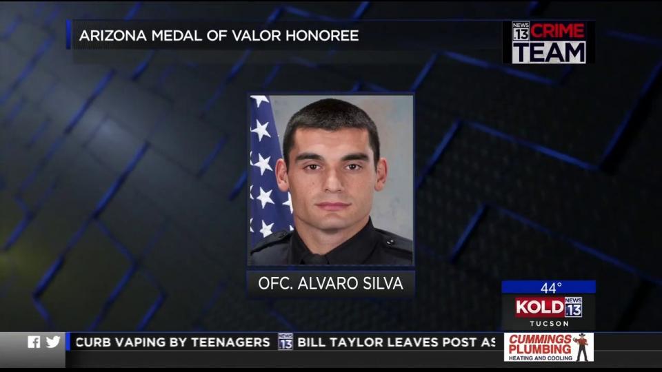 KOLD News 13: Arizona Medal Of Valor Honoree