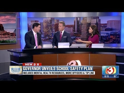 3 TV: Governor Unveils School Safety Plan
