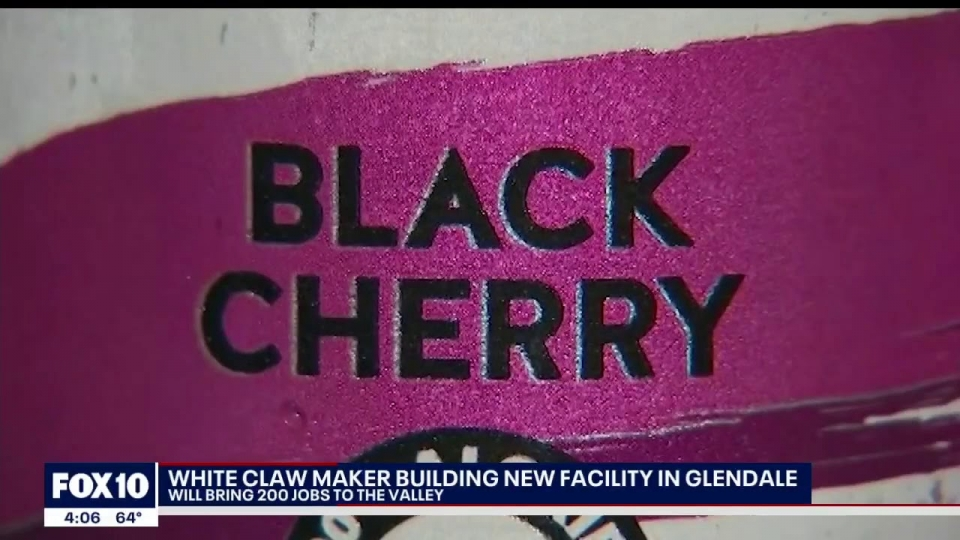 FOX 10: White Claw Maker Building New Facility In Glendale
