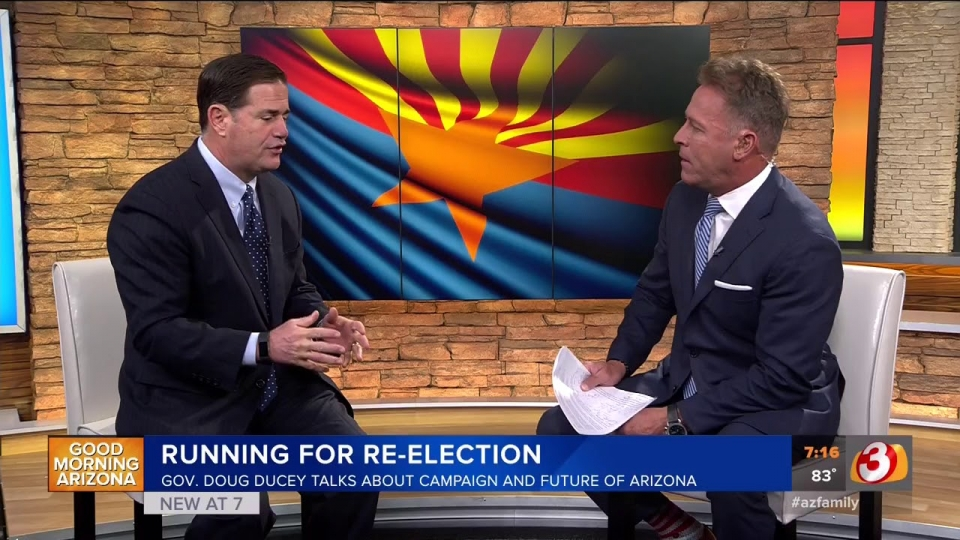 Governor Ducey Discusses Jon Kyl Appointment On Good Morning Arizona